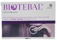 Biotebal 5mg 30tabl.#