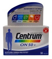 Centrum ON 50+ 30tabl.
