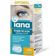 Iana OPTIMAL krople do oczu 0,1% HA