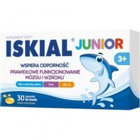 Iskial Junior kaps.do żucia 30 kaps.