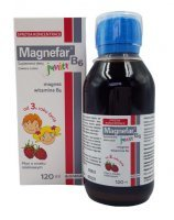 Magnefar B6 Junior płyn 120 ml