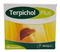 Terpichol Plus 60 tabletek